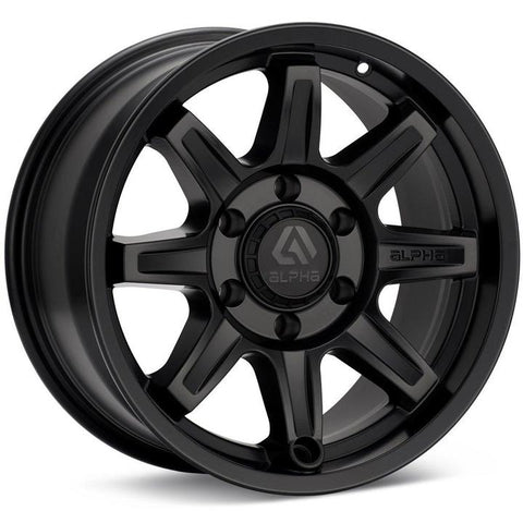 Alpha Equipt Command | Matte Black | 6x120 | +20mm | 17x8.5 - Colorado & Canyon Enthusiasts