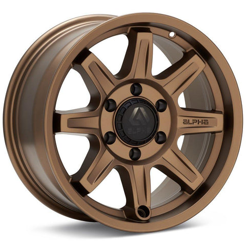 Alpha Equipt Command | Bronze | 6x120 | +20mm | 17x8.5 - Colorado & Canyon Enthusiasts