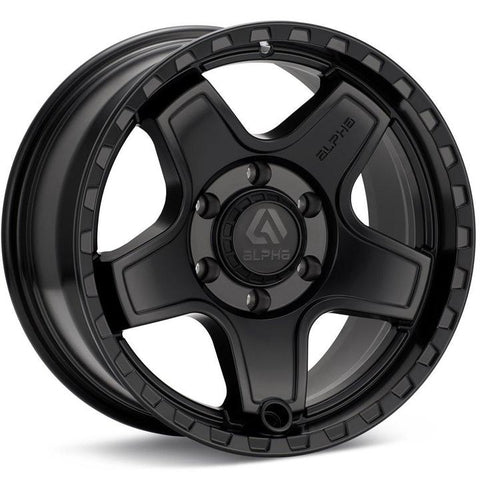 Alpha Equipt Echo | Matte Black | 6x120 | +20mm | 17x8.5 - Colorado & Canyon Enthusiasts