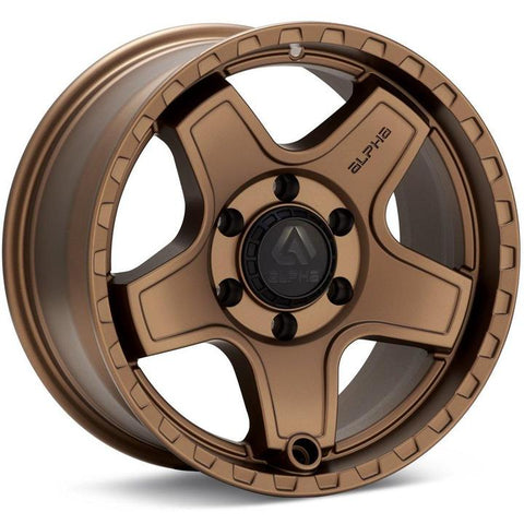 Alpha Equipt Echo | Bronze | 6x120 | +20mm | 17x8.5 - Colorado & Canyon Enthusiasts