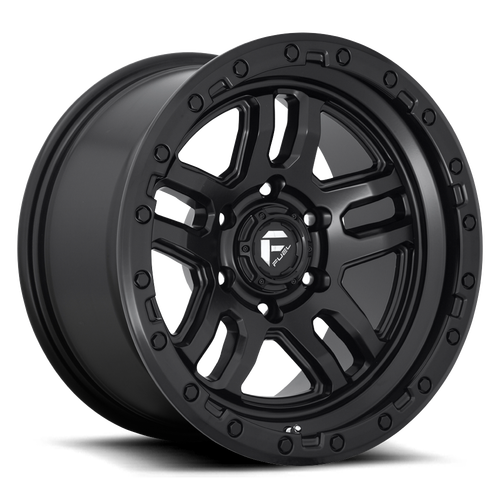 Fuel Ammo | Matte Black | 6x120 | +1mm | 17x9 - Colorado & Canyon Enthusiasts