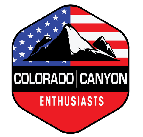 CCE Decal - USA - Colorado & Canyon Enthusiasts