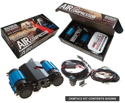 ARB On-Board High Performance 12 Volt Twin Air Compressor - Colorado & Canyon Enthusiasts