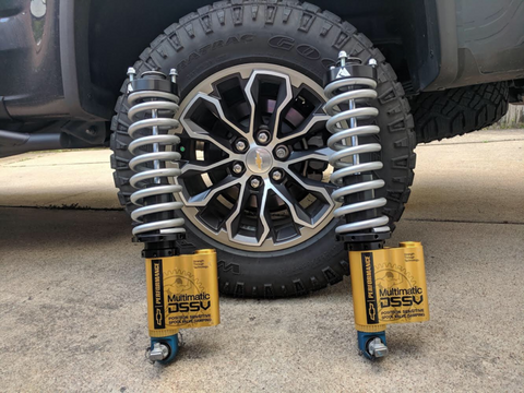Peak Suspension ZR2 Coilover Conversion - Colorado & Canyon Enthusiasts