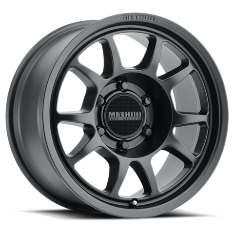 Method Race Wheels MR702 | Matte Black | 6x120 | 0mm | 17x8.5 - Colorado & Canyon Enthusiasts