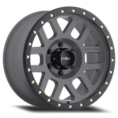 Method Race Wheels MR309 GRID | Titanium | 6x120 | 0mm | 17x8.5 - Colorado & Canyon Enthusiasts