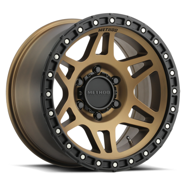 Method Race Wheels MR312 | Bronze | 6x120 | 0mm | 17x8.5 - Colorado & Canyon Enthusiasts