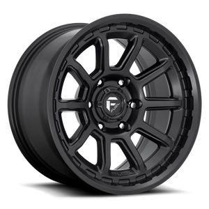 Fuel Torque | Matte Black | 6x120 | +1mm | 17x9 - Colorado & Canyon Enthusiasts