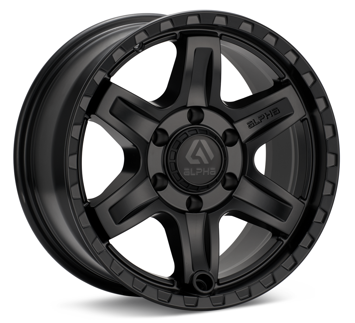 Alpha Equipt Delta | Matte Black | 6x120 | +20mm | 17x8.5 - Colorado & Canyon Enthusiasts