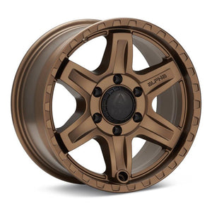 Alpha Equipt Delta | Bronze | 6x120 | +20mm | 17x8.5 - Colorado & Canyon Enthusiasts