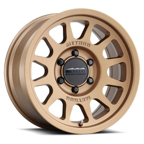 Method Race Wheels MR703 | Bronze | 6x120 | 0mm | Multiple Sizes - Colorado & Canyon Enthusiasts