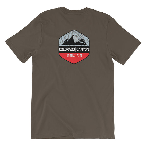 CCE Men's Tee - Colorado & Canyon Enthusiasts