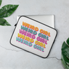 Weird Girl Laptop Sleeve