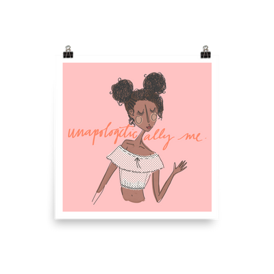 Unapologetically Me Poster