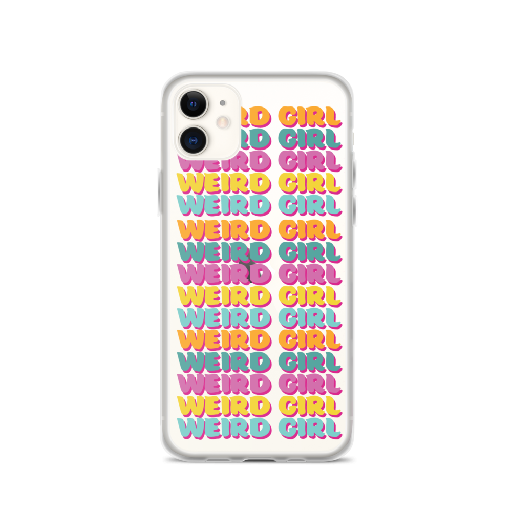 Weird Girl iPhone Case