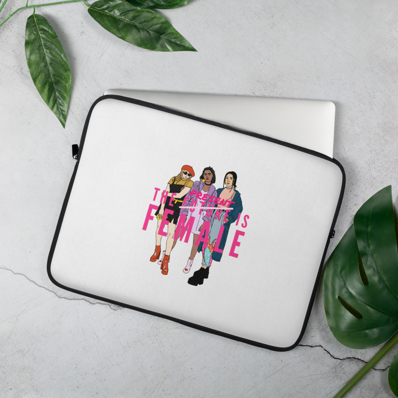 Future is Present Laptop Sleeve
