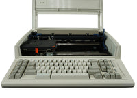 IBM Wheelwriter 2500 Typewriter Front View with Open Cover