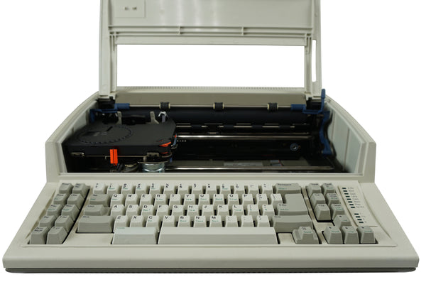 "IBM Lexmark Wheelwriter 1500 Typewriter Factory Certified ""New"" Front View with Top Cover Open"