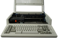 "IBM Lexmark Wheelwriter 2500 Typewriter Factory Certified ""New"" Front View with Open Cover"