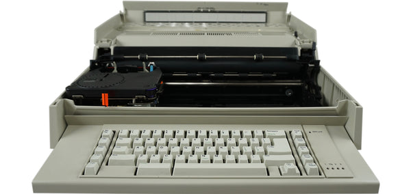 IBM Wheelwriter 3 Typewriter Front View with Open Cover