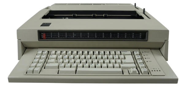 IBM Wheelwriter 6 Series II Electric Typewriter Front View