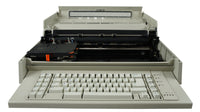IBM Wheelwriter 6 Series II Electric Typewriter Front View with Top Cover Open