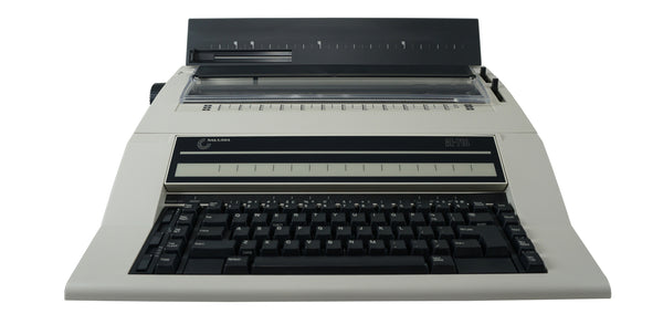 Nakajima WPT-150 Portable Electronic Word Processing Typewriter Front View