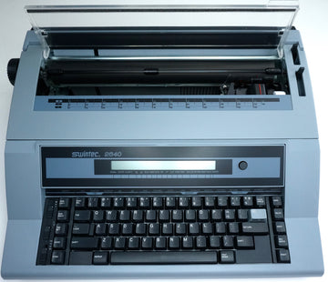 Brand New Swintec 2640i Electronic Typewriter With Liquid Crystal Display & 128K Storage Memory
