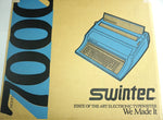 Box of Brand New Swintec 7000 Heavy Duty Electronic Typewriter