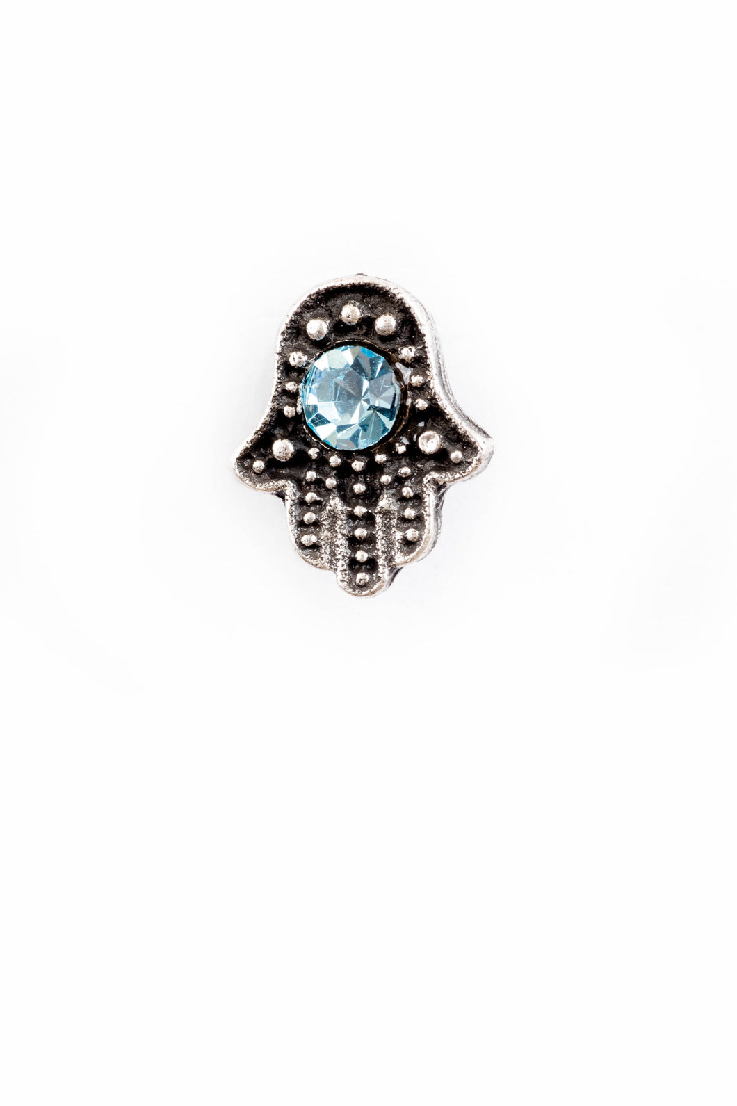 Mini Hamsa Post Earrings