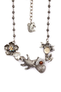 A Little Nutty Squirrel Necklace