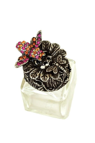 Bee Salt and Pepper Shaker with Swarovski Crystals