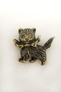 Glamour Kitty Brooch