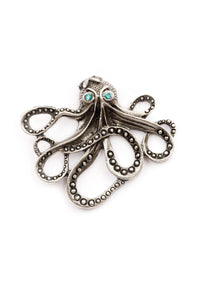 "The ""Under the Sea"" Octopus Stud Pin"