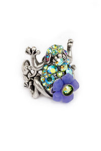 "The ""Take a Leap"" Chunky Frog Ring"