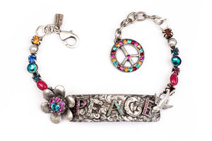 "The ""Word for Word"" Peace Bracelet"