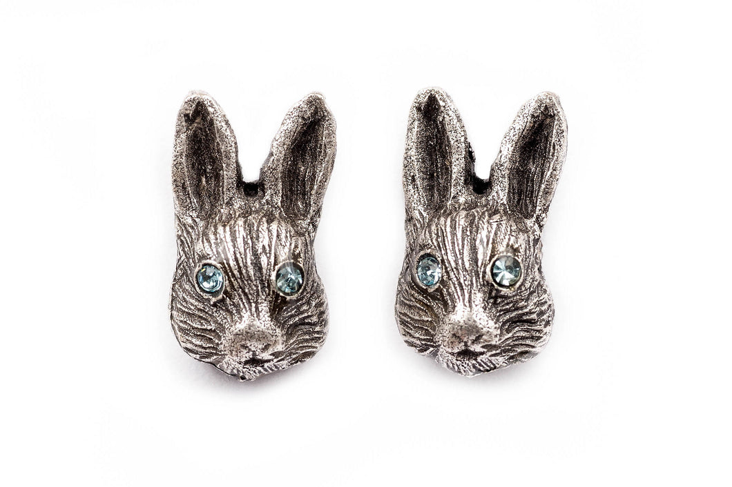 Bunny Head Stud Earrings