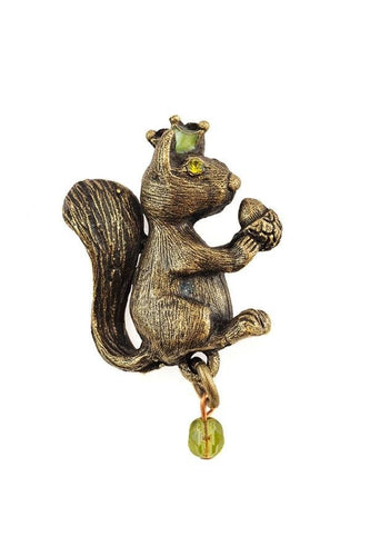 Squirrel Stud Pin