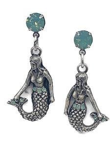 Under the Sea mermaid earrings