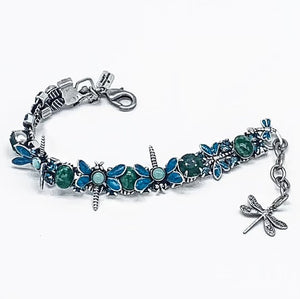 Dragonfly up and down dragonfly bracelet
