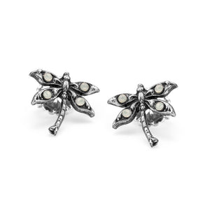 Spread Your Wings and Fly dragonfly stud earrings