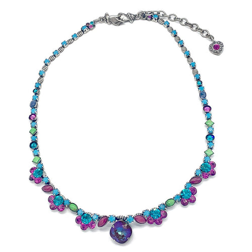 Bright Multi classic Stone necklace