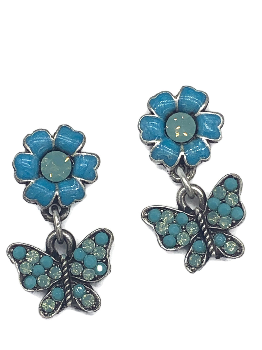 Butterflies are Free earrings ER-9165