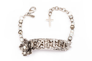 Word for Word Faith bracelet