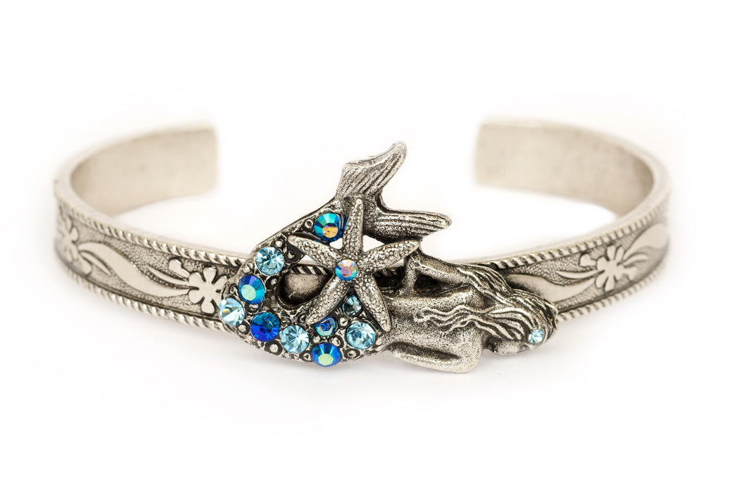 Mermaid bracelet cuff