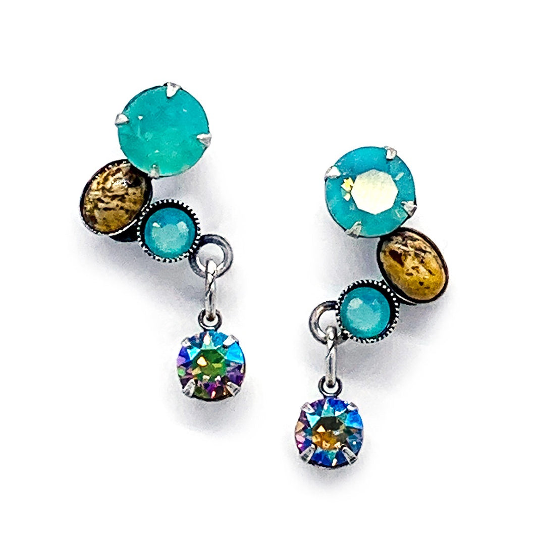 Classic Stone Earrings