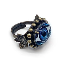 Load image into Gallery viewer, Evil eye ring Rg-1
