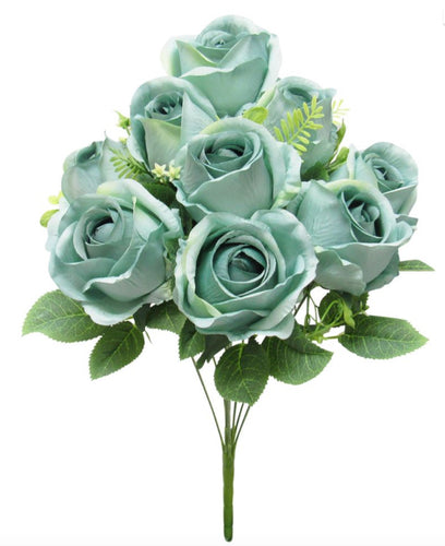 Vintage Sweet Rose- Sage Green Bouquet