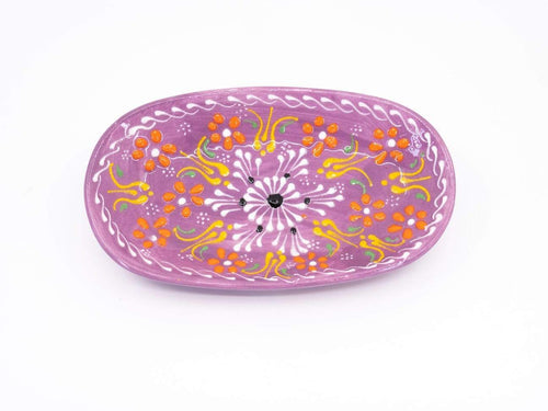 Stella and Bobbie BloomBowls Yellow BloomBowl Oval Dish