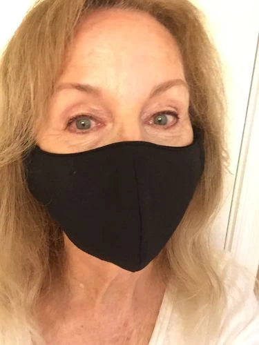 Carol K. review of Premium Nanotech Antibacterial Face Mask